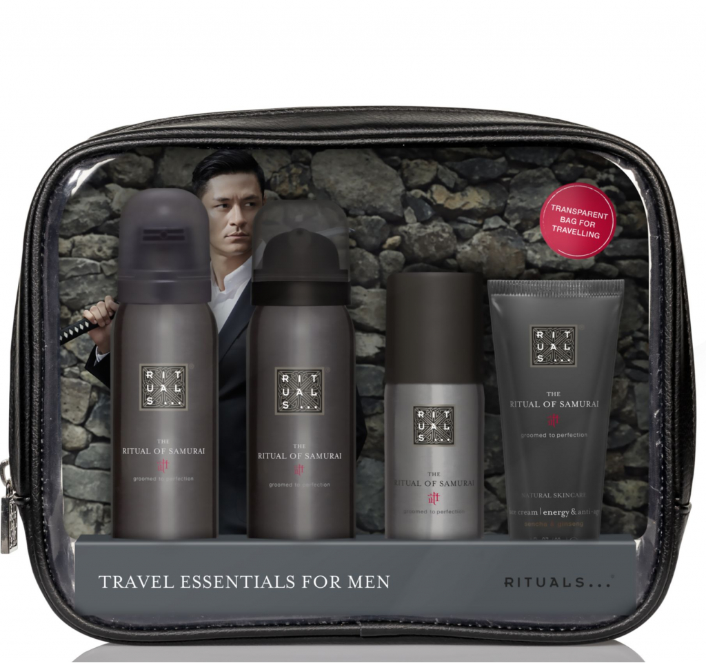 Rituals Samurai Travel Set Skincare Men