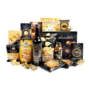 Bestel kerstpakketten met uw bedrijfslogo