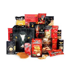 kerstpakket met rugzak voor uw activiteiten