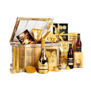 Overzicht kerstpakketten met sterke drank