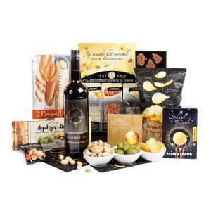 Bestel uw kerstpakket in het geel bij kerstpakket online