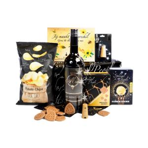 nieuwste kerstpakketten met bourgondisch eten en drinken