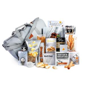 Mooi kerstpakket met zachte of harde koffers voor een onvergetelijke reis