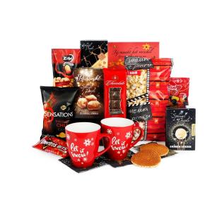 het premium assortiment aan kerstpakketten zit vol variaties