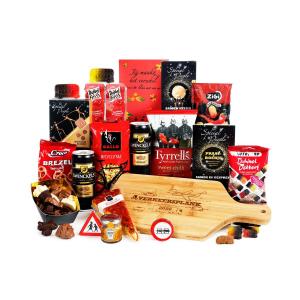 Kies een mooi kerstpakket met snijplank