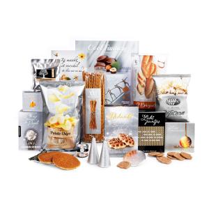 nieuw in ons assortiment zijn de kerstpakketten met stoere producten